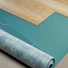 Ondervloer Click PVC