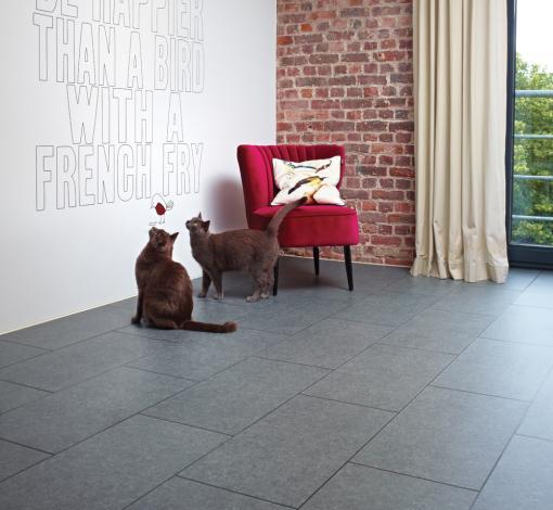 Pvc vloeren for Tegel pvc imitatie tegel cement