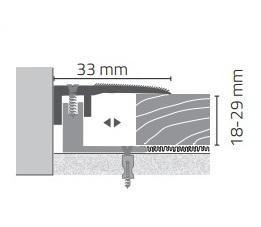Hoogte 18-29mm