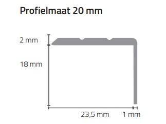 Profielmaat 20mm