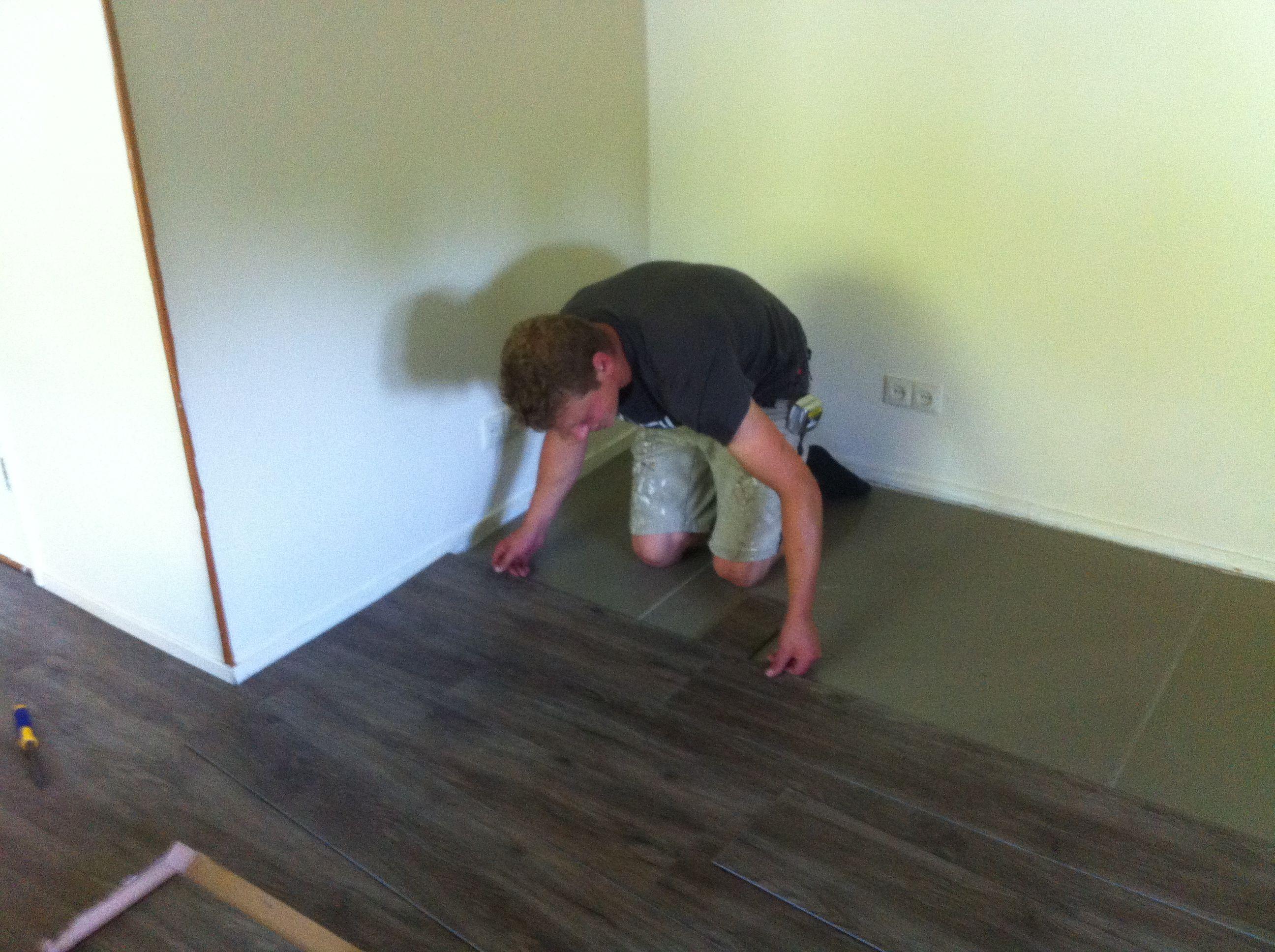 Klik Pvc Vloeren : Montage voor vloeren